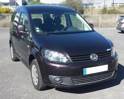 VOLKSWAGEN Caddy 1.2 l TSI 85CV TPMR 3 places assises +1 fauteuil roulant